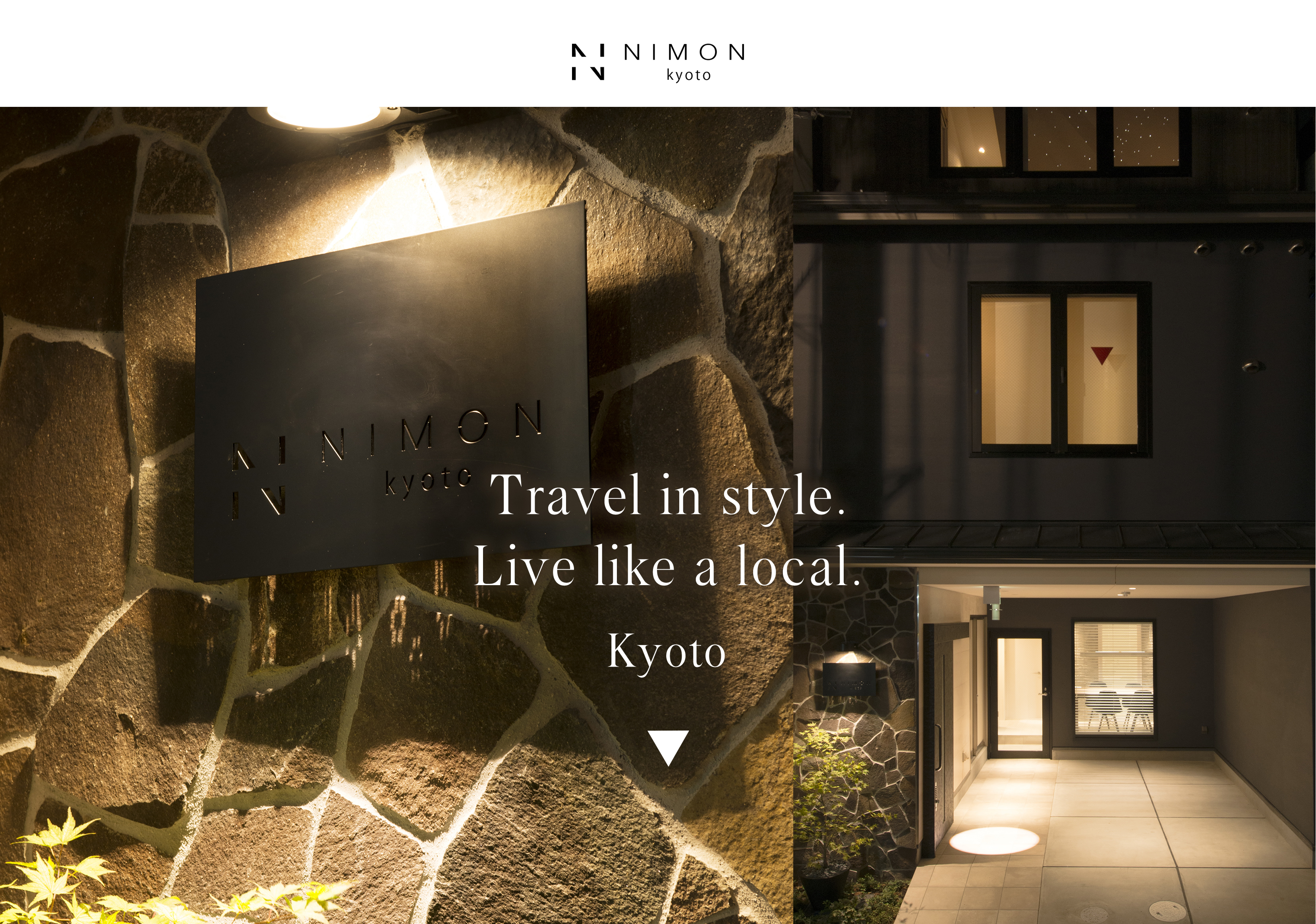 maisonette serviced apartment NIMON kyoto